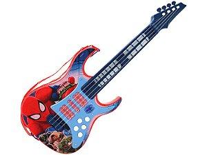 Guitarra Infantil Eletronica Homem Aranha R.30502 Toyng