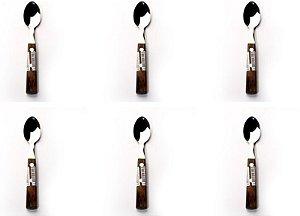Jogo de Colher de Chá Polywood Com 12 peças R.21199/985 Tramontina