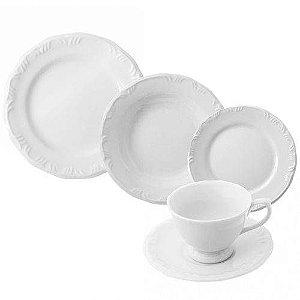 Aparelho De Jantar 30 Peças Pomerode Branco R.114.003.058  Schmidt