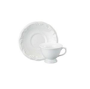 Jogo De Xicaras Cafe 06 Peças Pomerode Branca R.077.000 Schmidt