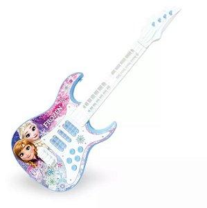Guitarra Infantil Eletronica Frozen R.27191 Toyng