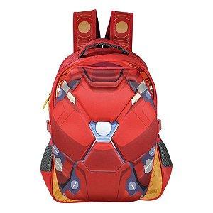 Mochila Infantil Homem De Ferro 16 R.6242 Xeryus