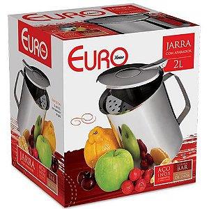 Jarra Inox 2 Litros com Aparador de Gelo IN8737 Euro Home
