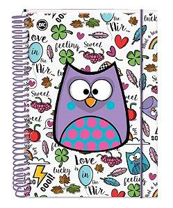Caderno Universitário 10X1 Bubu 2404 Dac