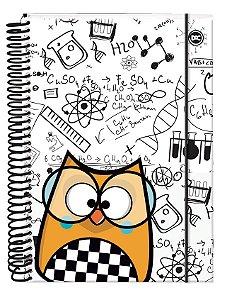 Caderno Universitário 10X1 Bubu Biel 2405 Dac