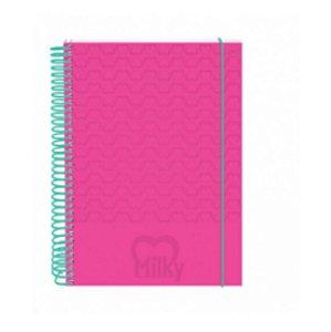 Caderno Universitário 10X1 Millky Pink 2365RS Dac