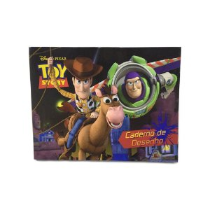 Caderno De Desenho 1/4 Toy Story 40 Fls 131074 Tilibra