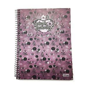 Caderno Universitário 1x1 Plush Poison R.129470 Tilibra