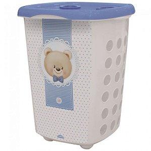 Cesto Infantil Urso Azul 38 Litros R.8437 Plasutil