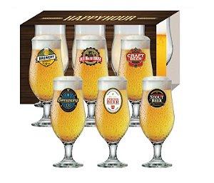 Conjunto de Taças para Cerveja Royal Beer 330ml 6080585 Ruvolo