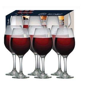 Jogo de Taças Para Vinho 6 peças 600ml One Bordeaux R.680587 Ruvolo