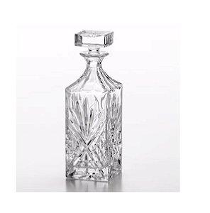 Garrafa Para Whisky de Cristal Dublin 750ml 3538 Lyor