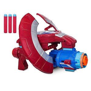 Lança Dardos Capitao America Avengers Guerra Infinita Nerf - Hasbro E0567