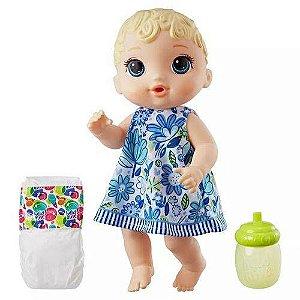 Boneca Baby Alive Hora do Xixi Loira E0385 Hasbro