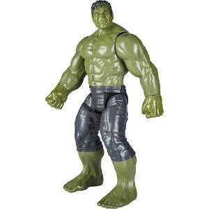 Boneco Avengers Titan Hero Hulk Power FX E0571 Hasbro
