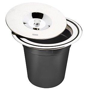 Lixeira Inox de Embutir 5l Clean 94518/005 Tramontina