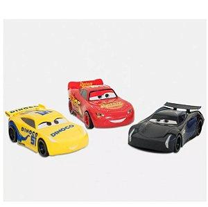Carros Kit Com 3 Carrinhos Roda Livre 13cm 8262-3 Toyng