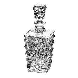Garrafa Para Whisky de Cristal Frozen 950ml 3179 Lyor