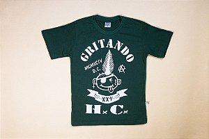 Camiseta Gritando HC infantil oldschool