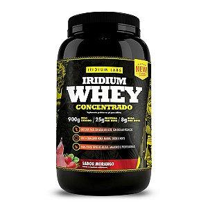Whey Protein - Sabor Morango (900g)