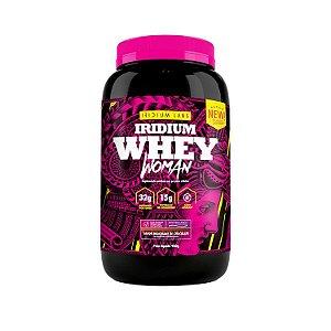 Iridium Whey Woman - Sabor Milk Shake de Chocolate (900g)