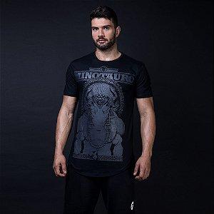 Camiseta Minotauro Duplo Preto Long