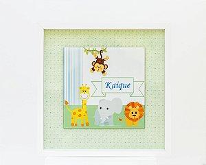 Porta de Maternidade (Tema Safari)