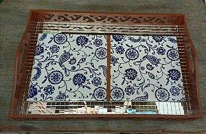 Bandeja Miriam (com azulejo)