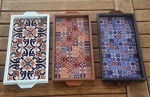 Bandeja Yasmin (com azulejo)
