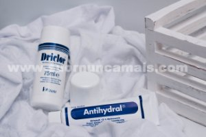DRICLOR ROLL-ON 75ml + ANTIHYDRAL POMADA 70g