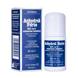 ANHYDROL FORTE ROLL-ON 60ml (ANTIPERSPIRANTE P/ AXILAS E/OU CORPO TODO) - SIMILAR AO DRICLOR