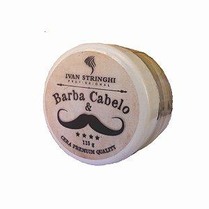 Cera Premium Barba, Cabelo e Bigode 50g