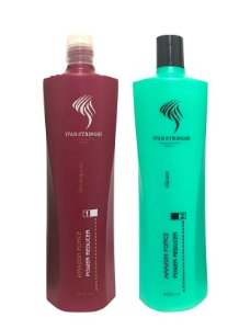 Kit Progressiva Amazon Force Power Reducer 2x1000ml (Shampoo + Gloss)