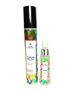 Kit Leave-in Diva 120ml  e Perfume 30ml | Volume |Produto Natural