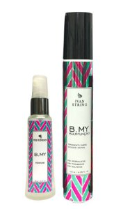 Kit Leave-in B-MY 120ml e Perfume 30ml | Multifunção |Produto Natural