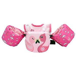 Colete Kids Homologado Flamingo Tamanho Único - ProLife