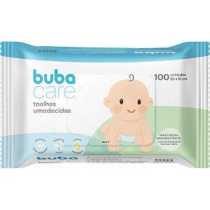 Toalhas Umedecidas Baby 100 Unidades - Buba