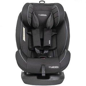 Cadeira para Auto Mooz 0 à 36 kg Preta com Isofix - Kiddo