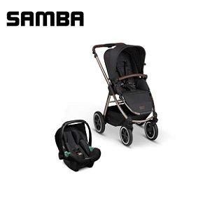 Carrinho de Bebê Samba Dolphin com Bebê Conforto - ABC Design