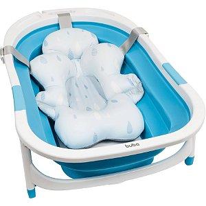 Almofada Banho com Fivela Ajustável Azul - Buba