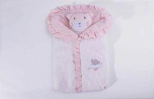 Porta Bebê Brilha Brilha Estrelinha Rosa - Hug