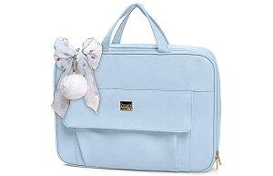 Bolsa Maternidade Requinte Azul Bebê - Hug