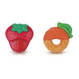 Mordedor Frutas com Gel - Nûby
