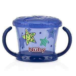 Porta Lanchinho Decorado Azul - Nûby