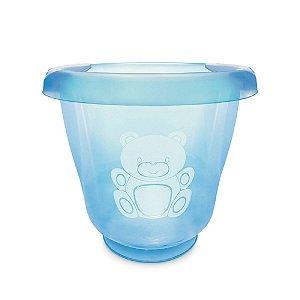 Ofurô para Bebê Fofura Translucido Azul Bebê - Adoleta Bebê