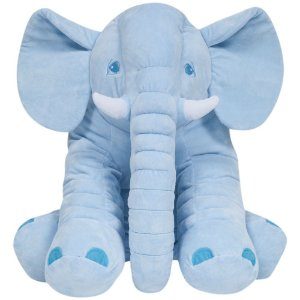 Almofada Elefante Gigante Azul - Buba