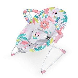 Cadeira Flamingo Vibes Vibrating Bouncer - Bright Starts