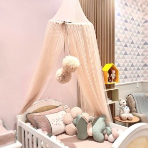 Tenda Dossel Mosquiteiro Rosa - Loren Baby