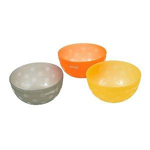 Kit 3 Bowls Colors - Clingo