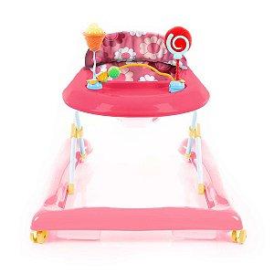 Andador Baby Step Rosa - Voyage